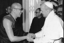 Le Dalaï-Lama & le pape Paul VI